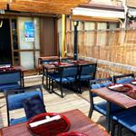 鍋と旬菜と京料理 花柳 - 川床