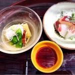 鍋と旬菜と京料理 花柳 - お刺身