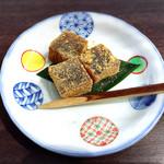 鍋と旬菜と京料理 花柳 - わらび餅