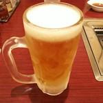 焼肉麻布 - 生ビール