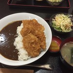 74745971 - 170921木 群馬 蒼屋 ソースカツ丼カレー850円
