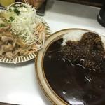 キッチン南海 - 生姜焼き、カレーライス