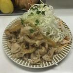 キッチン南海 - 生姜焼き