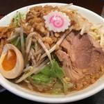 豚麺アジト - 子豚麺+マル得トッピング
