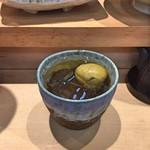 三代目 まる天 - まる天オリジナル梅酒(ロック)