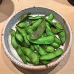 三代目 まる天 - 青森伝統野菜 茹でたて毛豆
