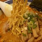 麺家くさび 郡山本店 - 蔵出し味噌豚骨麺