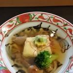 桂月 - 揚げ出し豆腐