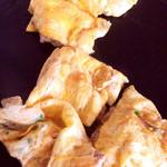 もんじゃ焼き 芯 - 豚平焼き