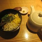 地鶏の鶏膳 - 鶏飯(小)