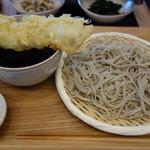 恵比寿 箸庵 - 一本穴子つけ天蕎麦
