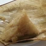 Gogoichihouraijeiarusanomiyaten - 筍のチマキ。美味しい!