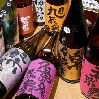 竹野酒造さんの日本酒【蔵舞シリーズ全5種】※大阪で当店のみ
