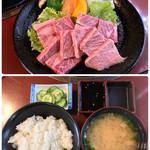 和風創作料理だいご - ランチ・焼肉定食(コーヒー付)1700円
