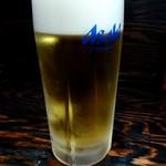 豚骨醤油 蕾 - 生ビール