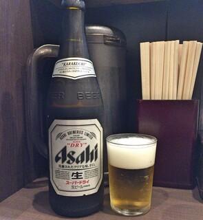 麺屋りゅう - 生ビール
