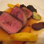 マジュール - ディナー:和牛ランプ肉のロティ