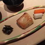 みかん - 焼き魚。