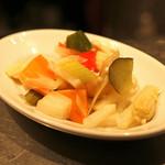ビーボデイリースタンド - 野菜のピクルス