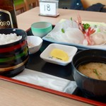 みさき - [2017/09]刺身定食(1500円)