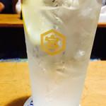 岸田屋 - レモンサワー