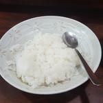 キッチンカミヤマ - ライス