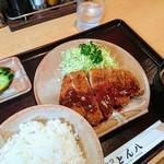 74763079 - 豚カツ定食