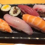 すし屋魚真 - 12種旬にぎり1500円税込