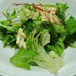 にぎにぎ一 - 日本前 にぎにぎ一 八重洲本館 海鮮ランチに付くサラダ