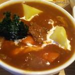 スープ食堂 パーチ - 焦げ気味のブロッコリー