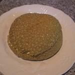 アルテリア・ベーカリー - ホイップクリーム抹茶メロンパン