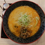 麺屋 大申 - 担々麺ひまご(750円、真上から)