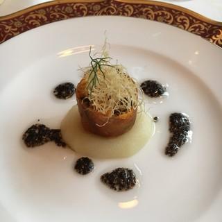 レストラン クレッセント - 料理写真:ルーム貝のフリアン