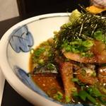 74768430 - ◆ごま鯖(780円)・・胡麻の味わいもよく美味しいとか。主人が思うより量があったらしく、結構お腹が膨れたそう