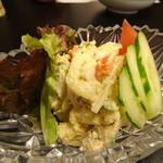 74768445 - ◆ポテトサラダ(580円)・・手作り感ある品で、好み。