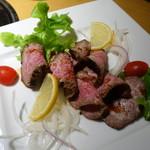 神戸牛炭火焼肉 大島屋 - 神戸牛ローストビーフ