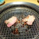 神戸牛炭火焼肉 大島屋 - じゅーじゅー①