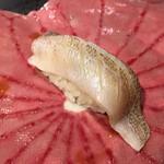 第三春美鮨 - 白鱚 60g 昆布〆 刺し網漁 千葉県竹岡