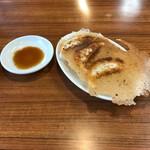 濃厚つけ麺 風雲丸 - 餃子3個