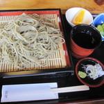 遊膳 - 料理写真:「手打ちざるそば  \750」