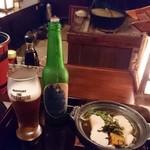 信州長屋酒場 - THE軽井沢ビール〈浅間名水〉プレミアム・ダーク 900円(税別)