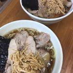 74777940 - 中華そば、チャーシュー麺