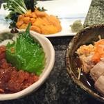 SUSHI-DINING 魚浜 - ウニ、イクラ、あん肝
