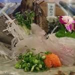 SUSHI-DINING 魚浜 - カワハギ刺