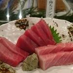 SUSHI-DINING 魚浜 - 鮪刺身3種盛