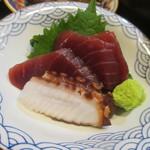 すき焼き・しゃぶしゃぶ・懐石料理 小豆 - 本鮪の赤身と蛸