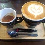 タウンスクエア コーヒー ロースターズ - スプレッソとカプチーノのセット