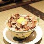 十番右京 - ☆トリュフすき焼きご飯