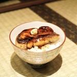 十番右京 - ☆和ダレのフォアグラご飯