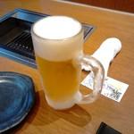 74782231 - 生ビールと予約券